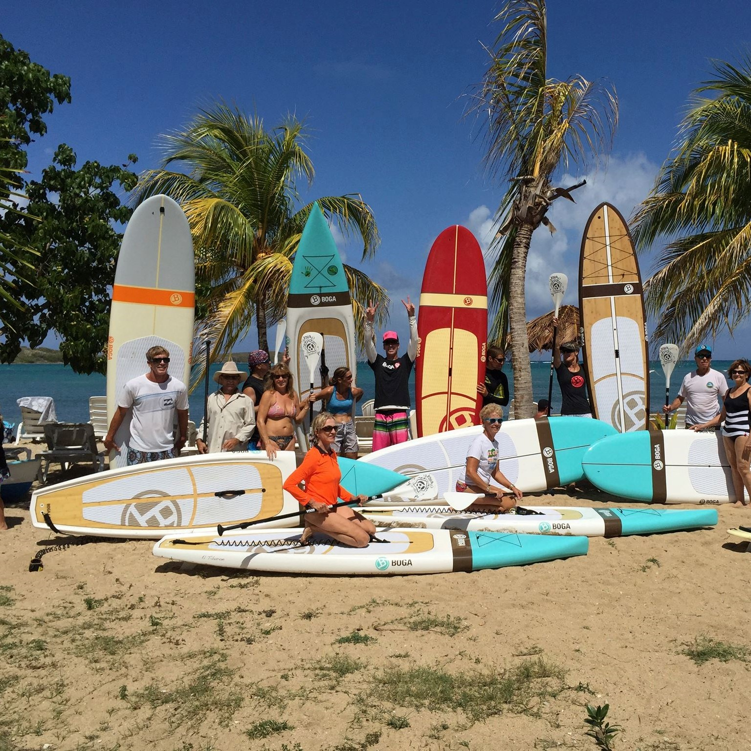 Paddleboard rentals at the east end paddle club
