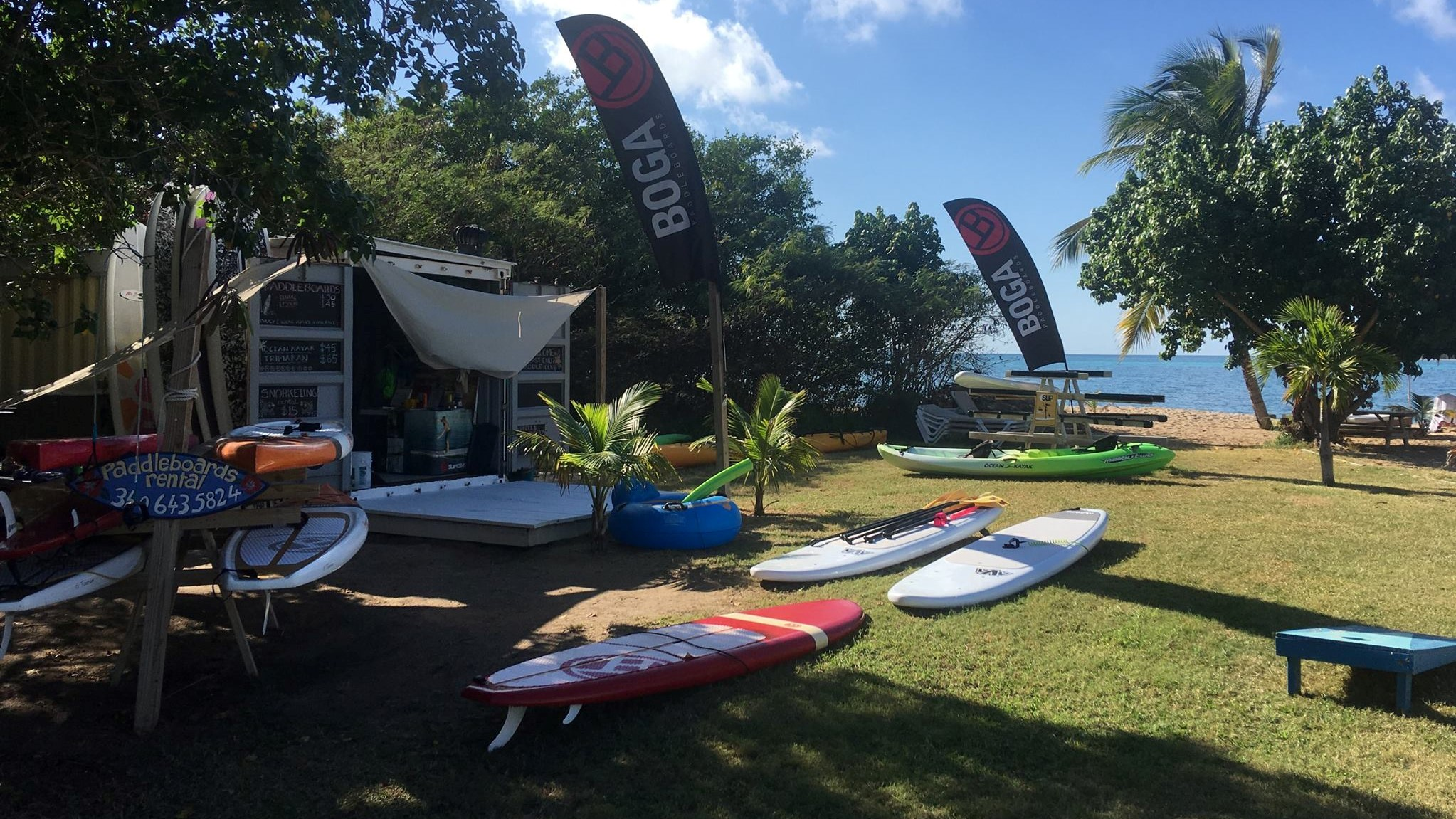 store you board with Kite st croix in the usvi