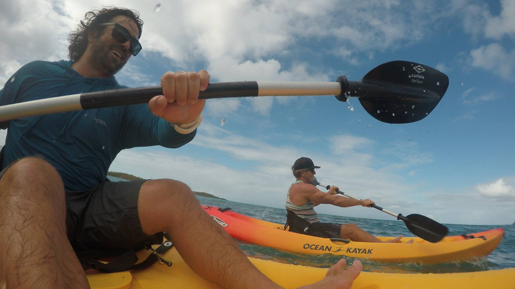 tourist rented a kayak from kite st croix usvi